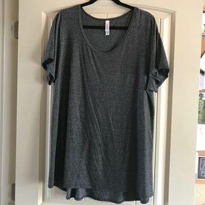 LuLaRoe gray t-shirt
